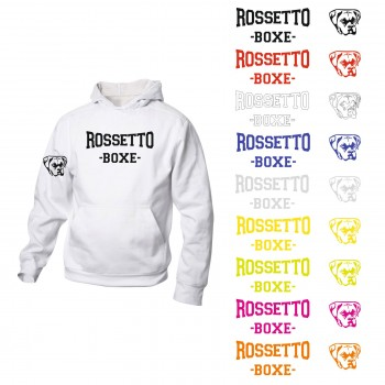 FELPA ROSSETTO BOXE BASIC HOODY JUNIOR